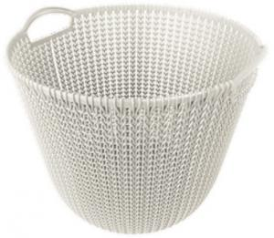 Curver Knit Mand - 30 Liter Oasis White