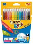 Viltstift Bic 217 Kid Couleur 750 Assorti Medium Etui 12st
