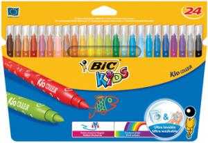 Bic Viltstift Kid Couleur 24 Stiften