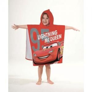 Poncho / Badcape Cars It Time 60x120cm