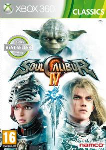 Soul Calibur IV 4 Game Classiscs Xbox 360 (3296580808304)