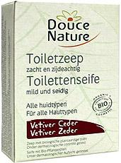 Douce Nature Toiletzeep Vetiver Ceder Bio 100g