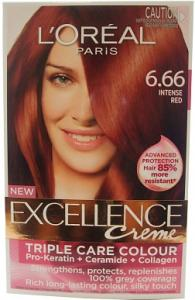L Haarverf - Excellence Creme Nr. 6.66 Intense Red
