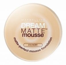 Maybelline New York Dream Matte Mousse Foundation - 010 Ivory 18