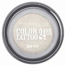 Maybelline Color Tattoo 24hr Oogschaduw 45 Infinite White
