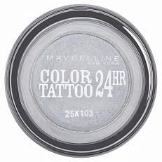 Maybelline Color Tattoo 24hr Oogschaduw 50 Eternal Silver
