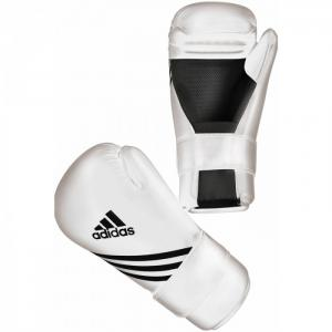 Adidas Semi Contact Gloves Wit - XL