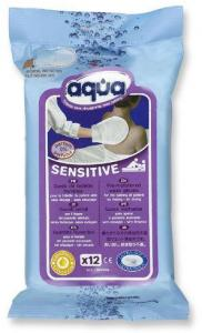 Aqua Washandjes Sensitive 12st