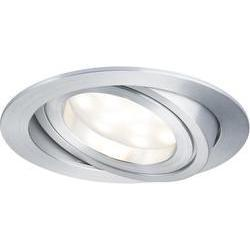 LED-inbouwlamp 20.4 W 230 V Warm-wit Paulmann Coin 92797 Alumini