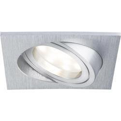 LED-inbouwlamp 20.4 W 230 V Warm-wit Paulmann Coin 92799 Alumini