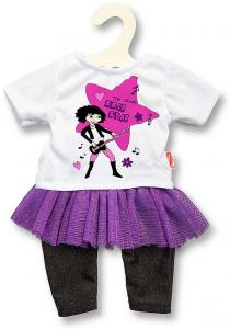 Poppen Rockster Outfit 28-35 Cm