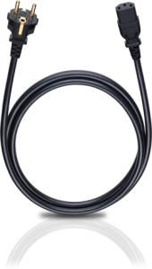 Oehlbach Powercord C13 Black 30m