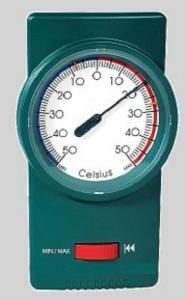 Dr.F Min-Max Thermometer Groen