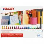 Fineliner Edding 1200 Assorti 0.5-1mm Doos 20st