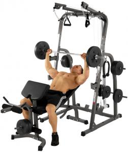 Hammer Fitness Solid XP Halterbank