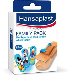 Hansaplast Pleisters - Family Pack 40 Strips (4005800091537)