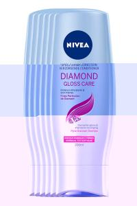 NIVEA Diamond Gloss Conditioner 200ml Voordeelpakket 5+1 Gratis