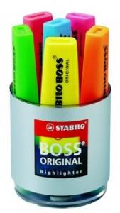 Markeerstift Stabilo Boss Assorti 6stuks In Bureauset