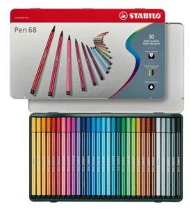 Stabilo Viltstift Pen 68 30 Stiften