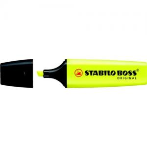 Markeerstift Stabilo Boss Geel