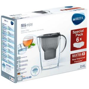 Brita Fill & Enjoy Marella Cool Graphite Half Jaar Pak 1st