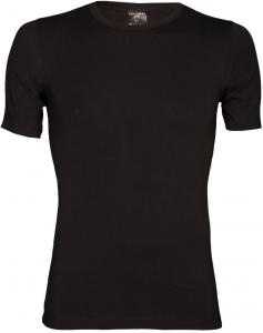 Schiesser T-shirt 95-5 Stretch Zwart