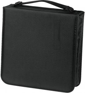 Hama CD Wallet Nylon 208 Zwart