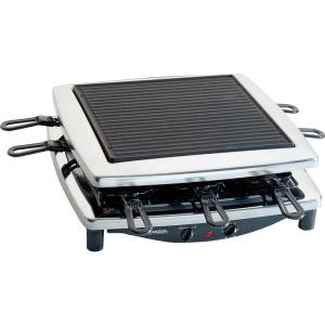 Steengrill-gourmet-raclette RC 3 PLUS CHROOM