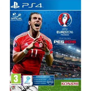 Konami UEFA Euro 2016 + Pro Evolution Soccer PS4 116630470002