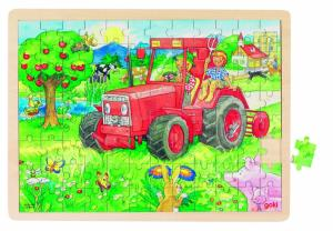 Puzzel Tractor 96st