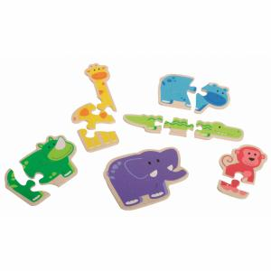 Beleduc Puzzels Happy Animal 18011 (4014888180118)