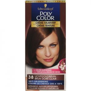 Schwarzkopf Poly Color Semi Permanente Haarverf Nr. 38 Lichtgoud