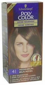 Schwarzkopf Poly Color Semi Permanente Haarverf 41 Middenbruin (4015000211413)