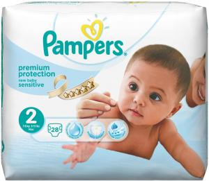 Pampers New Baby Luiers Sensitive Maat 2 - 28 Stuks