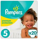 Pampers Premium Protection Maat-5 Junior 11-23kg 20-Luiers