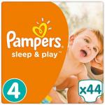 Pampers Sleep And Play Maat-4 Maxi 8-16kg 44-Luiers