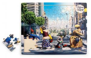 Small Foot Puzzel Shaun Das Schaf Puzzle Abbey Road