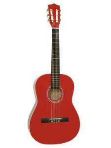 DIMAVERY AC-303 Classical Guitar 3/4 Red