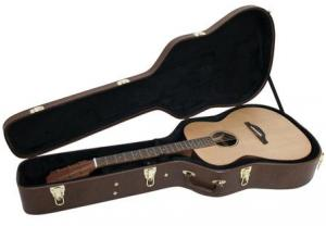 DIMAVERY Form Case Western Guitar Brown
