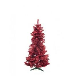 EUROPALMS Fir Tree FUTURA Red Metallic 180cm