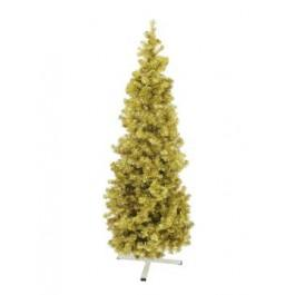 EUROPALMS Fir Tree FUTURA Gold Metallic 210cm
