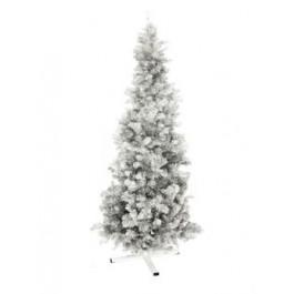 EUROPALMS Fir Tree FUTURA Silver Metallic 210cm