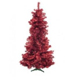 EUROPALMS Fir Tree FUTURA Red Metallic 210cm
