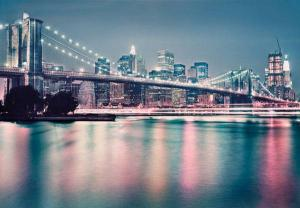 Brooklyn Bridge - Neon