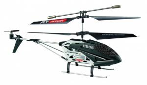 Cartronic RC Helikopter C906 24 Cm Zwart/wit