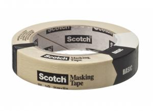 3M Scotch Afplaktape Basic 24 Mm X 50 M