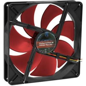 Phobya G-Silent 18 Red 700rpm 180x180x32 79080