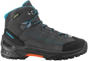 Lowa Approach GTX MID Junior Anthracite Turquoise