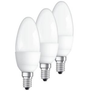 OSRAM Osram LED STAR Kroon E14 53W 3-pack 4052899955509 Replace: