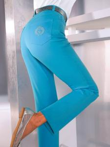 Jeans Paola Turquoise